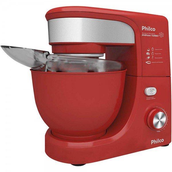 batedeira-planetaria-philco-php500-vermelha-0 pronta para uso
