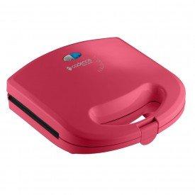 sanduicheira cadence rosa san237 2 2