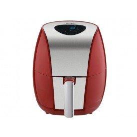 fritadeira britania air fry digital 3 2l bfr03vi vermelha
