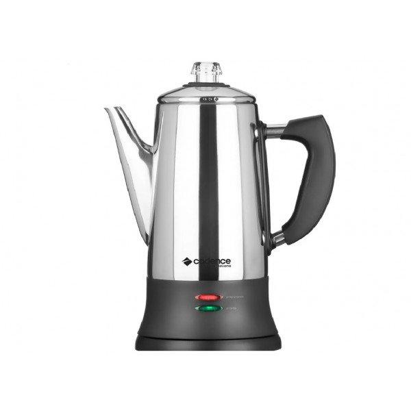 caf103 cafeteira inox cadence 1000w 1 7 litros