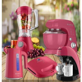 Kit Completo - Cozinha Rosa Cadence
