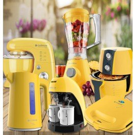Kit Semi Completo - Cozinha Amarelo Canário Cadence