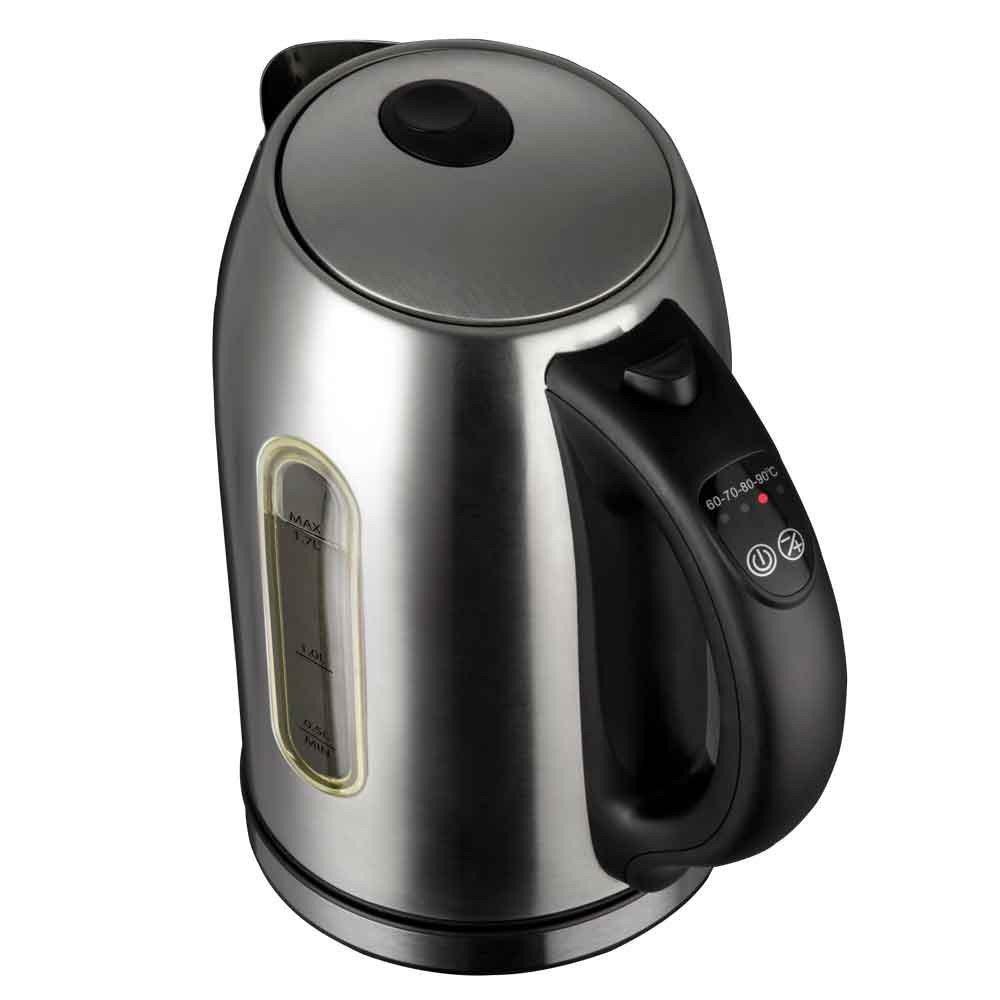 jarra eletrica aco inox com controle de temperatura