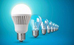 a historia e as vantagens da lampadas led